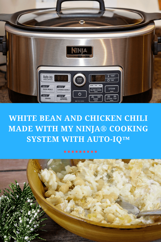 White Bean And Chicken Chili By Ninja Cooking System With Auto Iq Tamara Like Camera