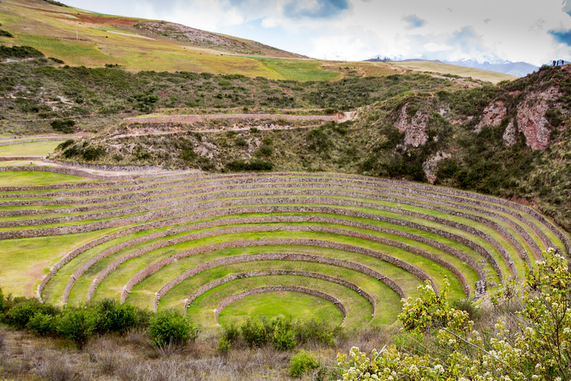 The Irrigated Terrace Used by the Inca Farmers to Experiment with Micro Climates in Moray (©simon@myeclecticimages.com)