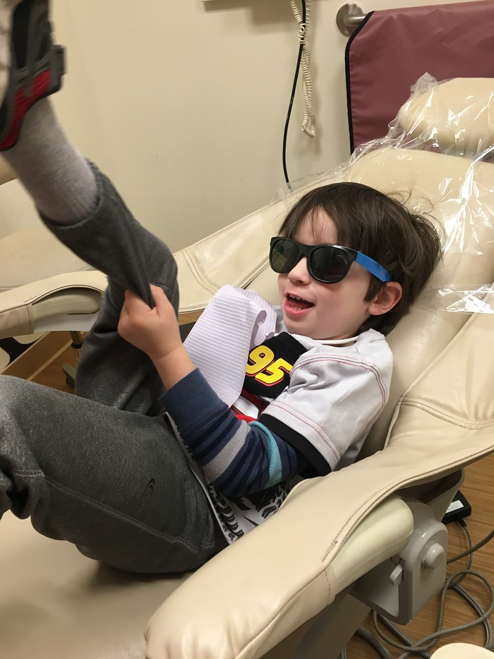 I thought I was nervous registering my firstborn for kindergarten, but it turns out, I got as nervous with my second! Here's how he's rocking life in style.