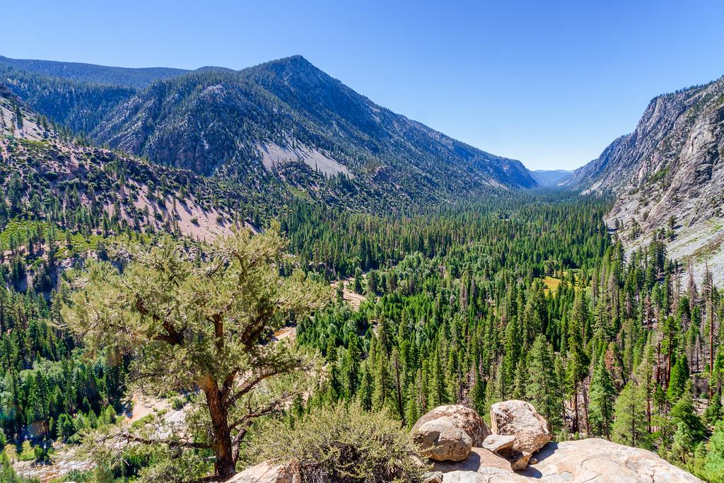 Kern Canyon High Sierra Trail Sequoia National Park