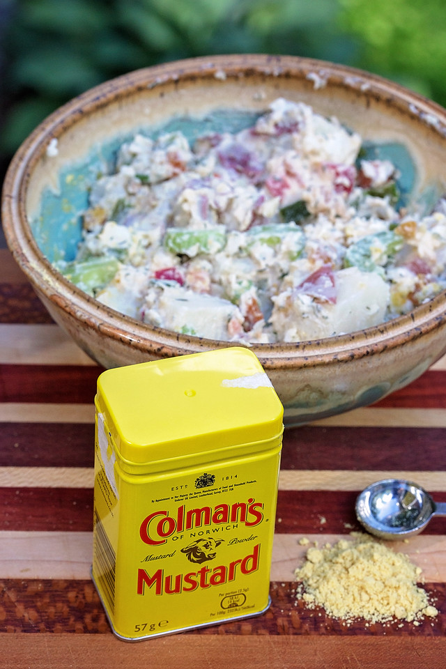 How do you take a perfect American classic dish and then make it even better? It needs HEAT, and Colman's is the one to bring it. #recipe #ad #HotMessAround