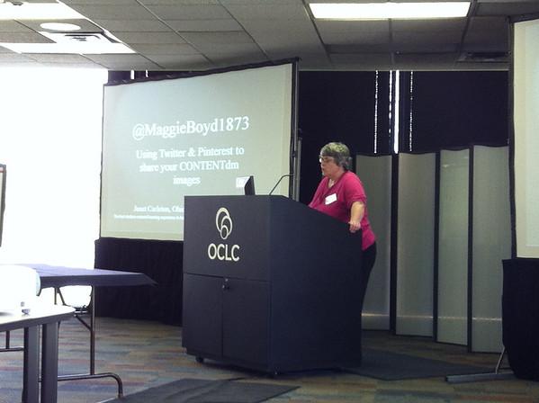 Janet Carleton's presentation on Maggie Boyd