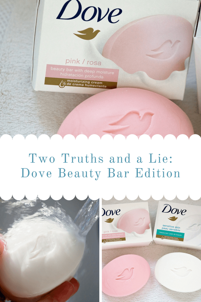Remember the classic game Two Truths and a Lie? I'm thrilled to partner with Dove to bring back this game and debunk some of the most common skincare myths. #DovePartner #ad