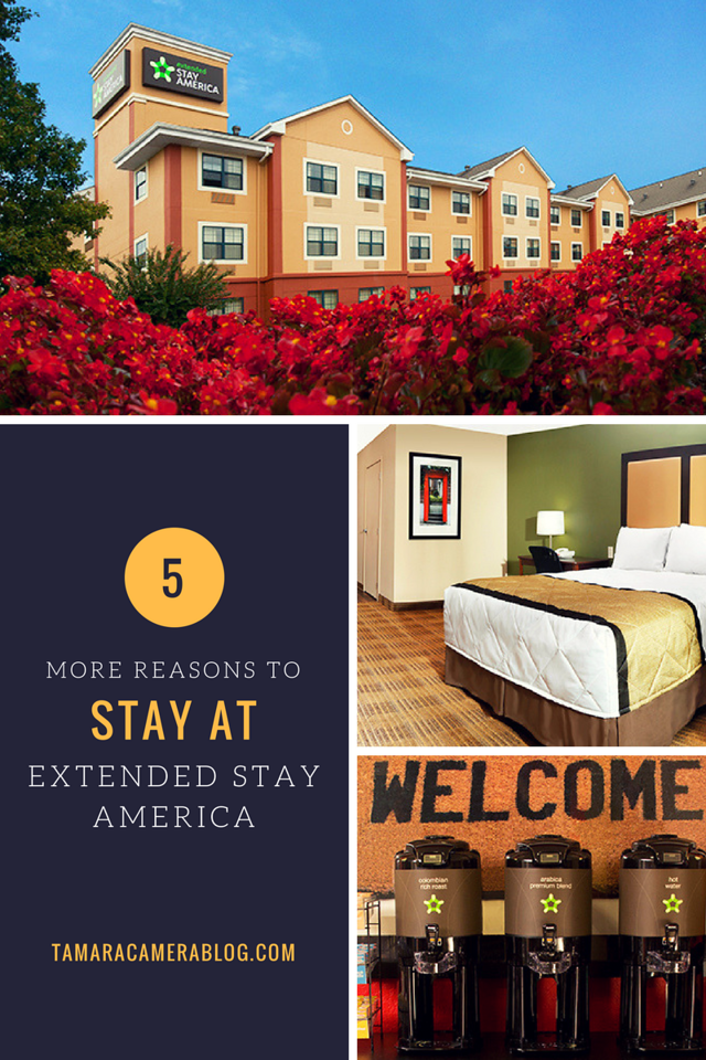 There 1 billion reasons to stay at Extended Stay America, and here I give you five more after an amazing family trip we took! #ad #getaway #vacation #rental #myESA