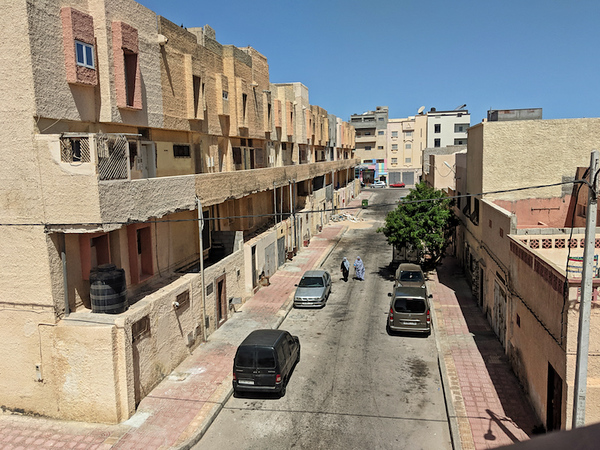 Travel to Dakhla - Street scene