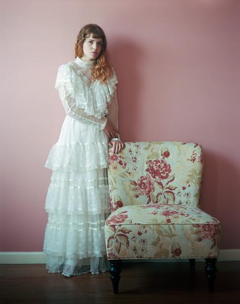Elisa in White Dress
