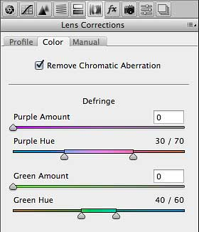 New color fringe removal options in Camera Raw 7.1