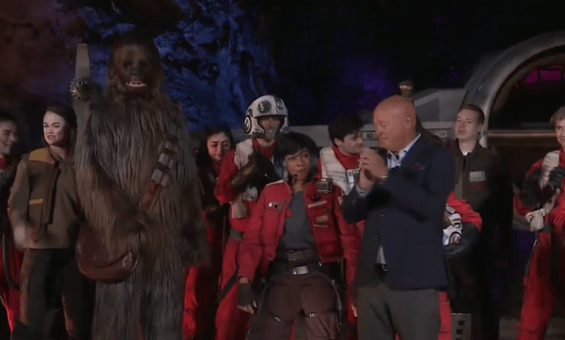 star wars galaxys edge rise of the resistance dedication ceremony (10)