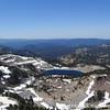 Looking back down on Lake Helen