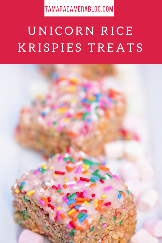 Delight your party guests with easy, delicious Unicorn Rice Krispies Treats! They're perfect for summer gatherings #party #recipe #ad #TreatYourselfToSummer
