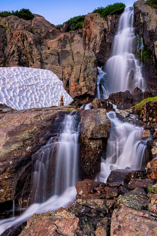 Timberline Falls Sky Pond Rocky Mountain National Park