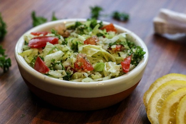 Tabouleh is the easiest salad to make!