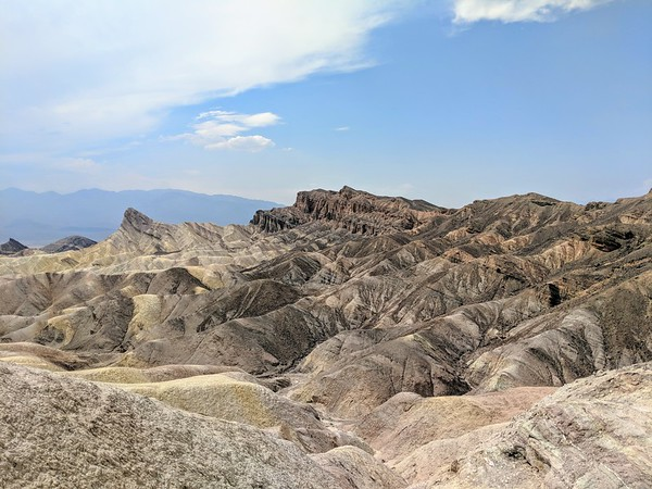Things to do in Las Vegas - Zabriskie Point in Death Valley