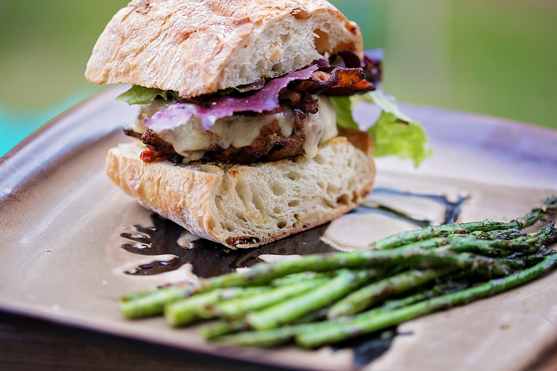 Grilled Turkey Burgers make a wonderful meal that works well as leftovers for lunch the next day. For non-red meat eaters, it's a crowdpleaser