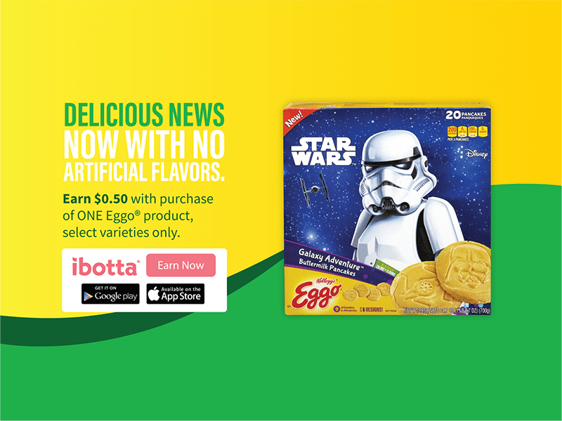 A galaxy far, far away is now at your breakfast table with Kellogg's® Eggo® Star Wars Galaxy Adventure Buttermilk Pancakes #ad #EggoStarWarsPancakes #deal