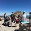 Ranger geology talk on the summit, thanks!