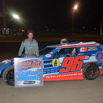 Mike McKinney earned his 7th Modified win
