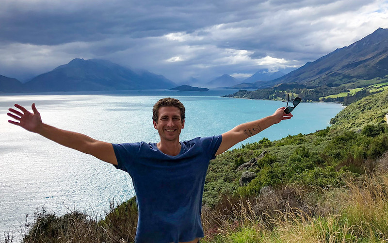8 Day New Zealand Road Trip - scenic view point