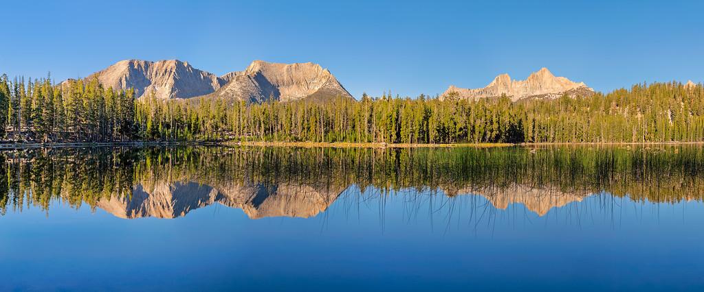 Moraine Lake High Sierra Trail Sequoia National Park