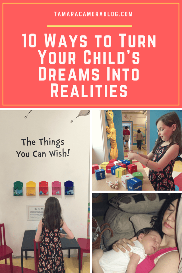 Are you a family of dreamers too? Find out 10 ways to help turn your child's dreams into realities with the help of the U. Fund Dreams Tour #ad #UFundDreams