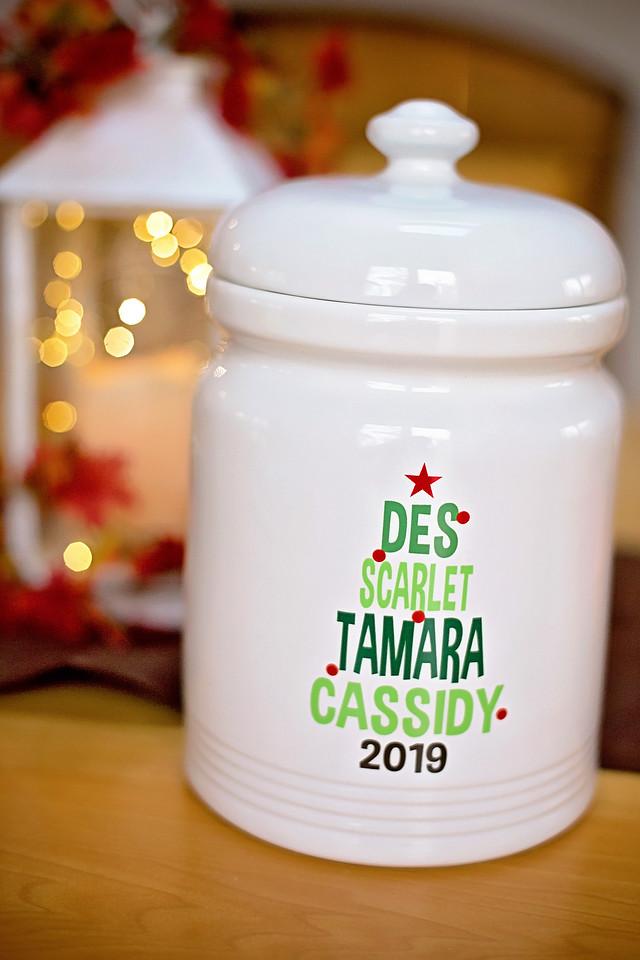 holiday cookie jar