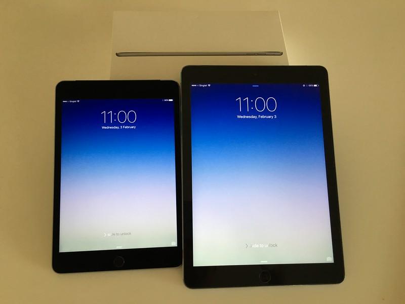 iPad Mini 4 vs iPad Air