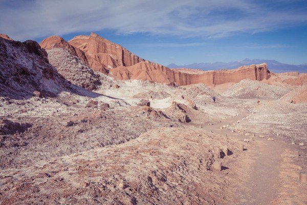 Valle de la Luna - Closest representation of Mars or the Moon on Earth located in Chile's Atacama desert | www.eatworktravel.com