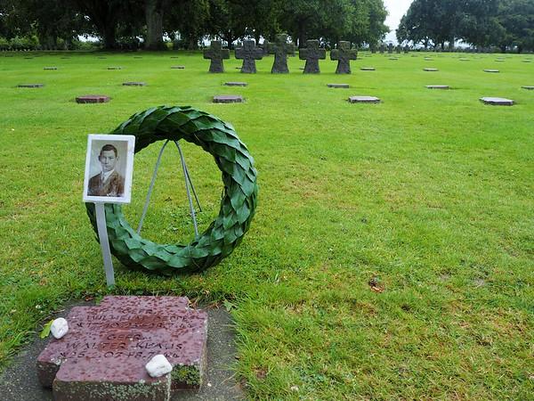 Nazi war graves in Normandy