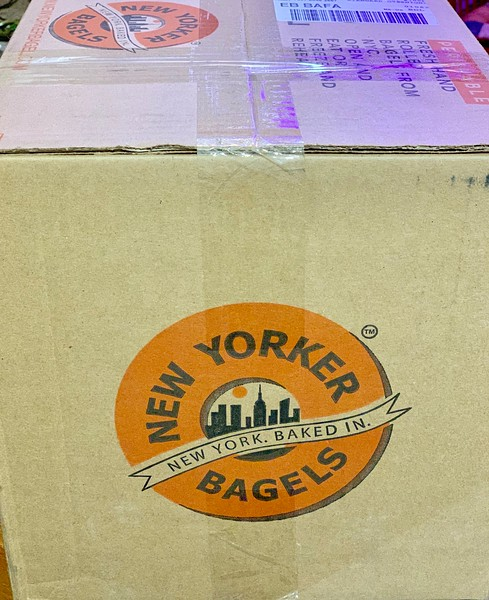 New Yorker Bagels is the world's largest fresh bagel bakery. They ship fresh and make great gifts! Try it! #ad #NewYorkerBagels #bagels #food #brunch #yummy