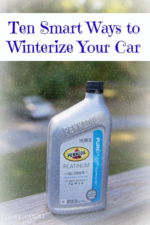 Ten SMART Ways to Winterize Your Car, especially if you live in a state with extreme cold temperatures. #FallForPennzoil #CollectiveBias #ad