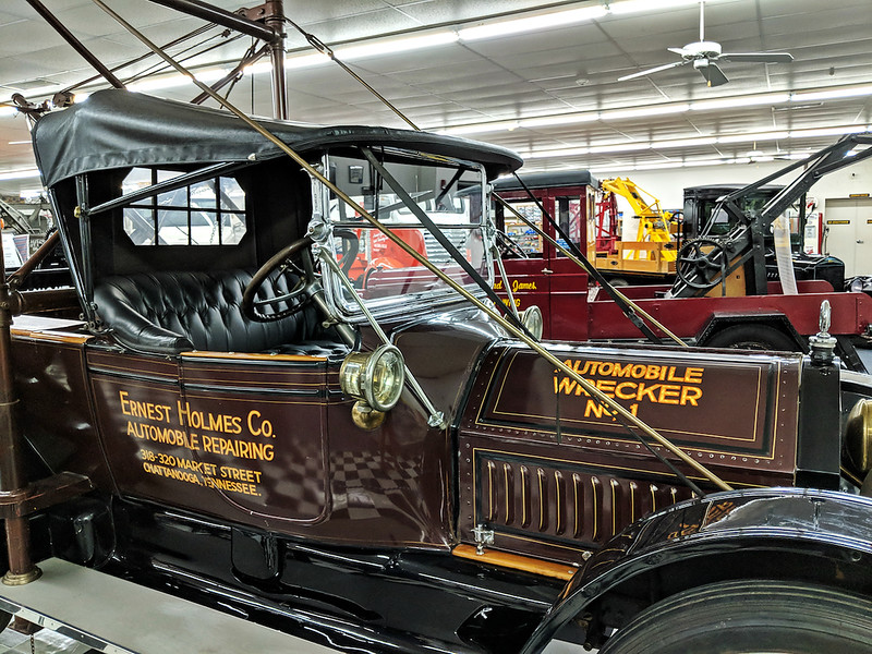 International Towing and Recovery Museum - Ernest Holmes tow truck