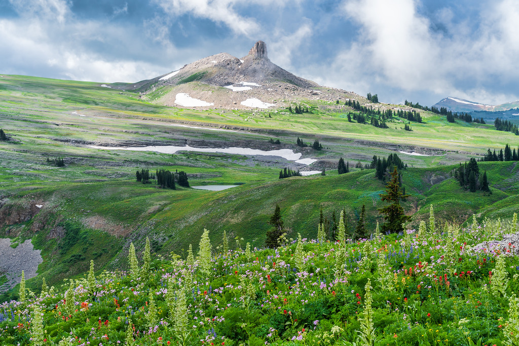 Fox Creek Pass Teton Crest Trail Grand Teton National Park Wyoming