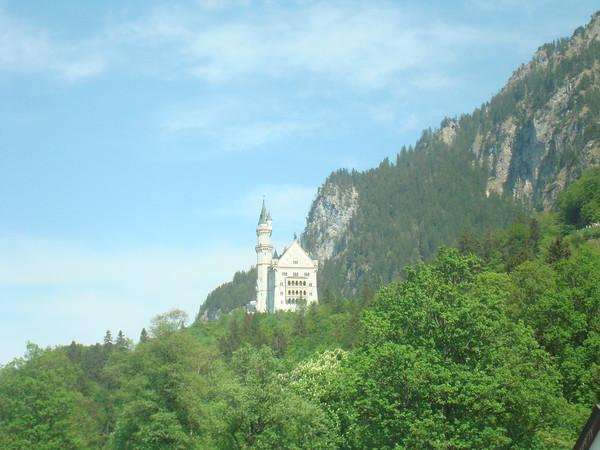 View of Neuschwanstein Castle Fussen