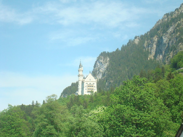 View of Neuschwanstein Castle Fussen