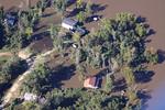 Sabine River flood 11-09