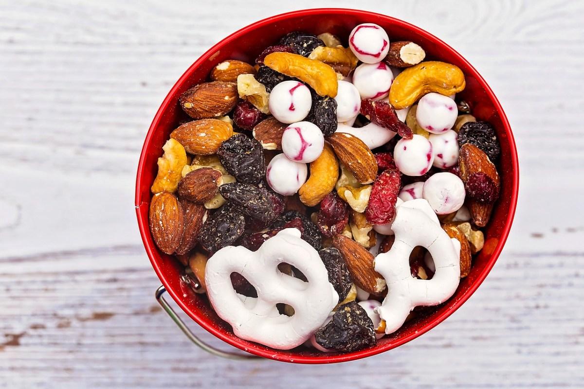 Sweet & Salty Fruit 'n Yogurt Trail Mix
