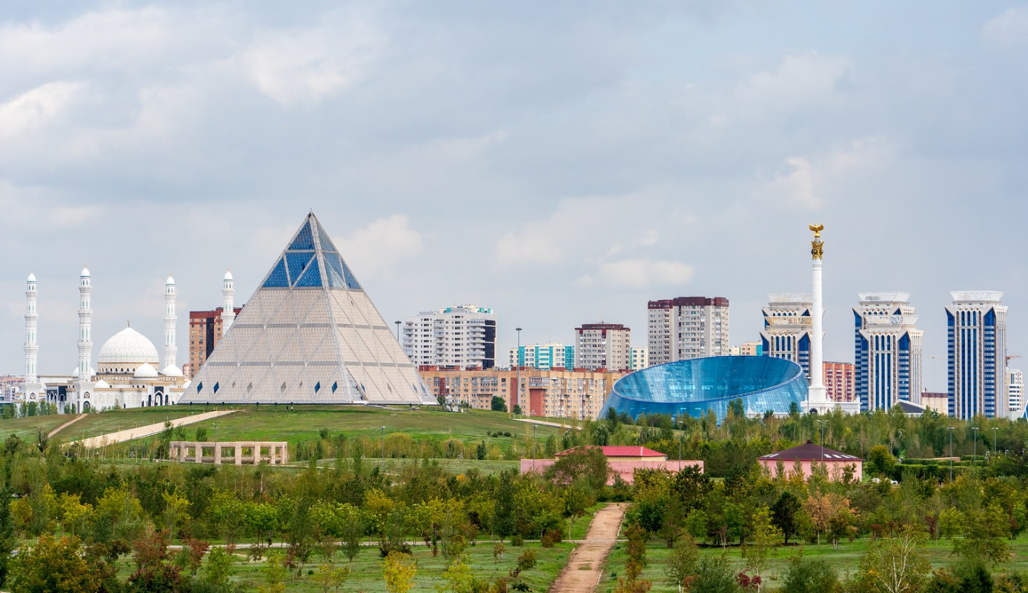 Architecture in Astana