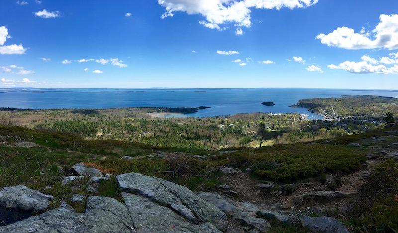 top of Mount Battie