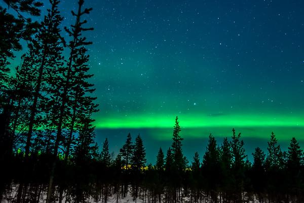 Northern Lights - Levi - Feb. 2017