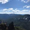 View towards Washington and the Three Sisters