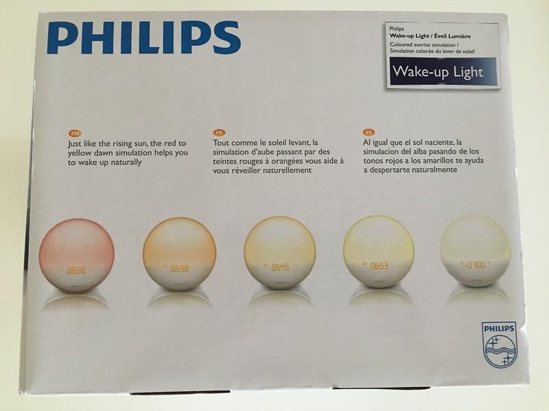 Philips HF3520 Wake-Up Light With Colored Sunrise Simulation
