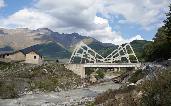 The bridge not too far