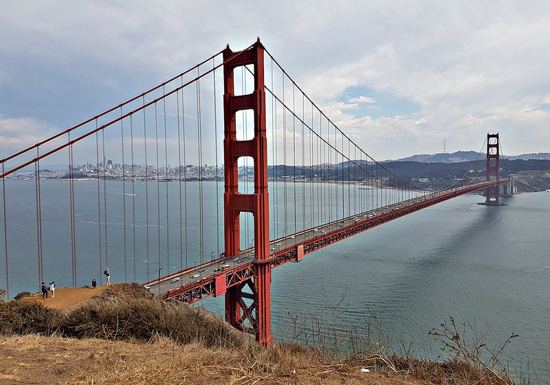 California road trip - Golden Gate Bridge