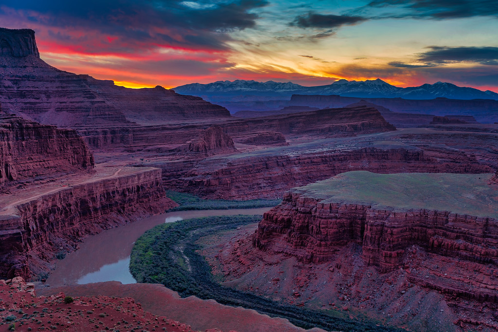 Epic Shots in Moab LaSal Mountains
