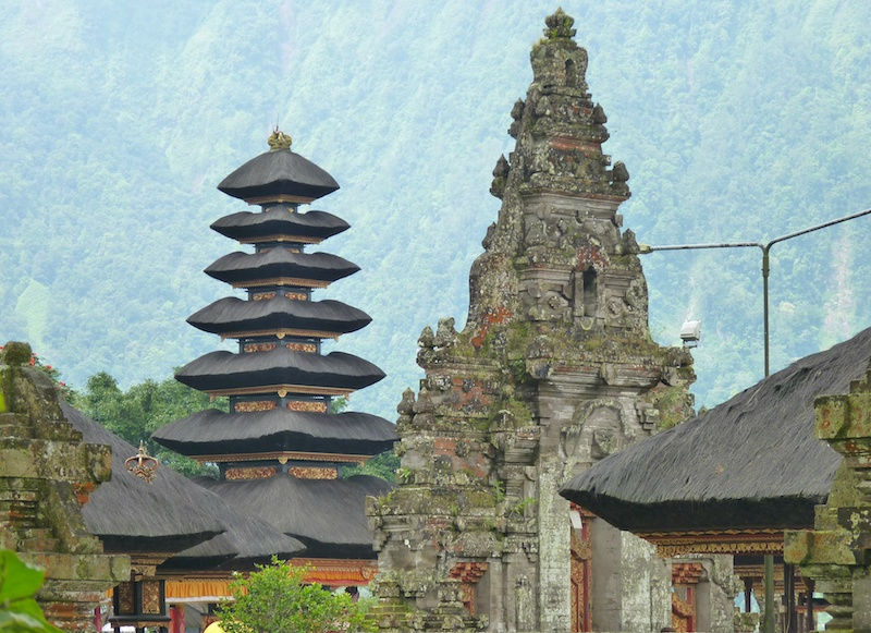 The island of Bali, Indonesia - temples
