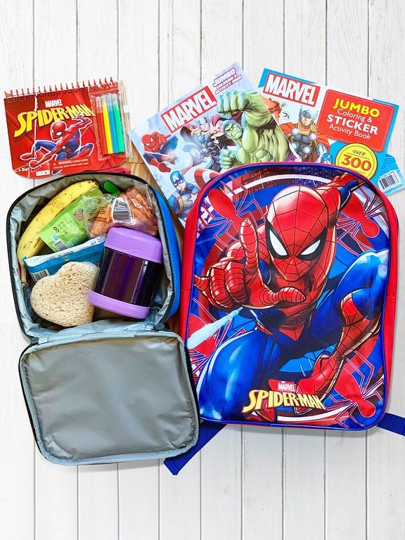 Marvel back to school at Dollar General