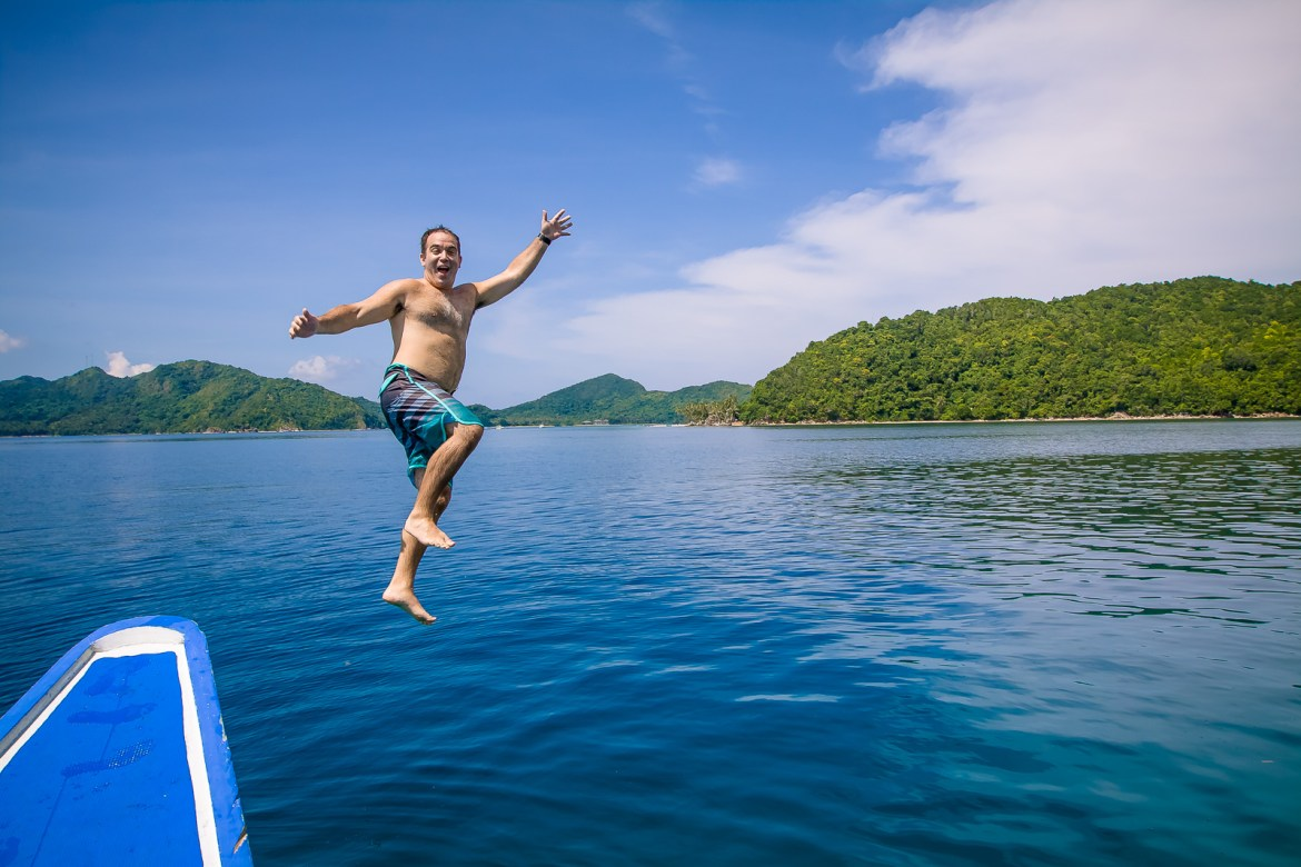 The ultimate activities when visiting El Nido, Philippines is to take island hopping tours to see the lagoons and coves in the area. We've compiled a list of our favorite spots to help you choose the best El Nido boat tour for you. | www.eatworktravel.com