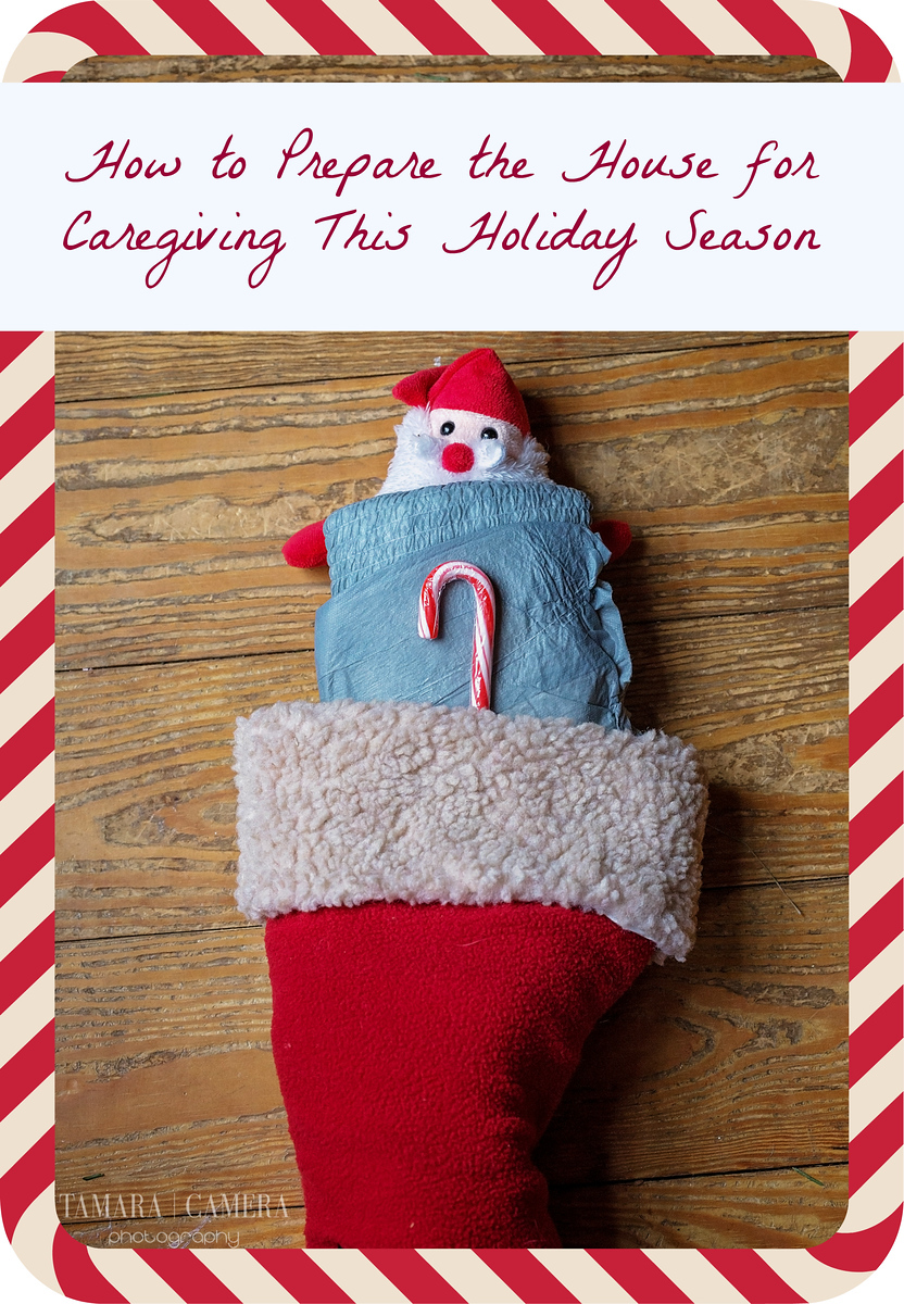 Here are ten ways to prepare your home (and yourself) for caregiving during the #holiday season, making it a place of comfort & joy! #MyCareGivingStory #ad