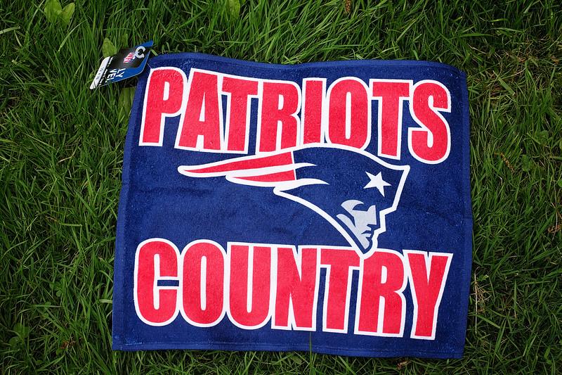New England Patriots towel