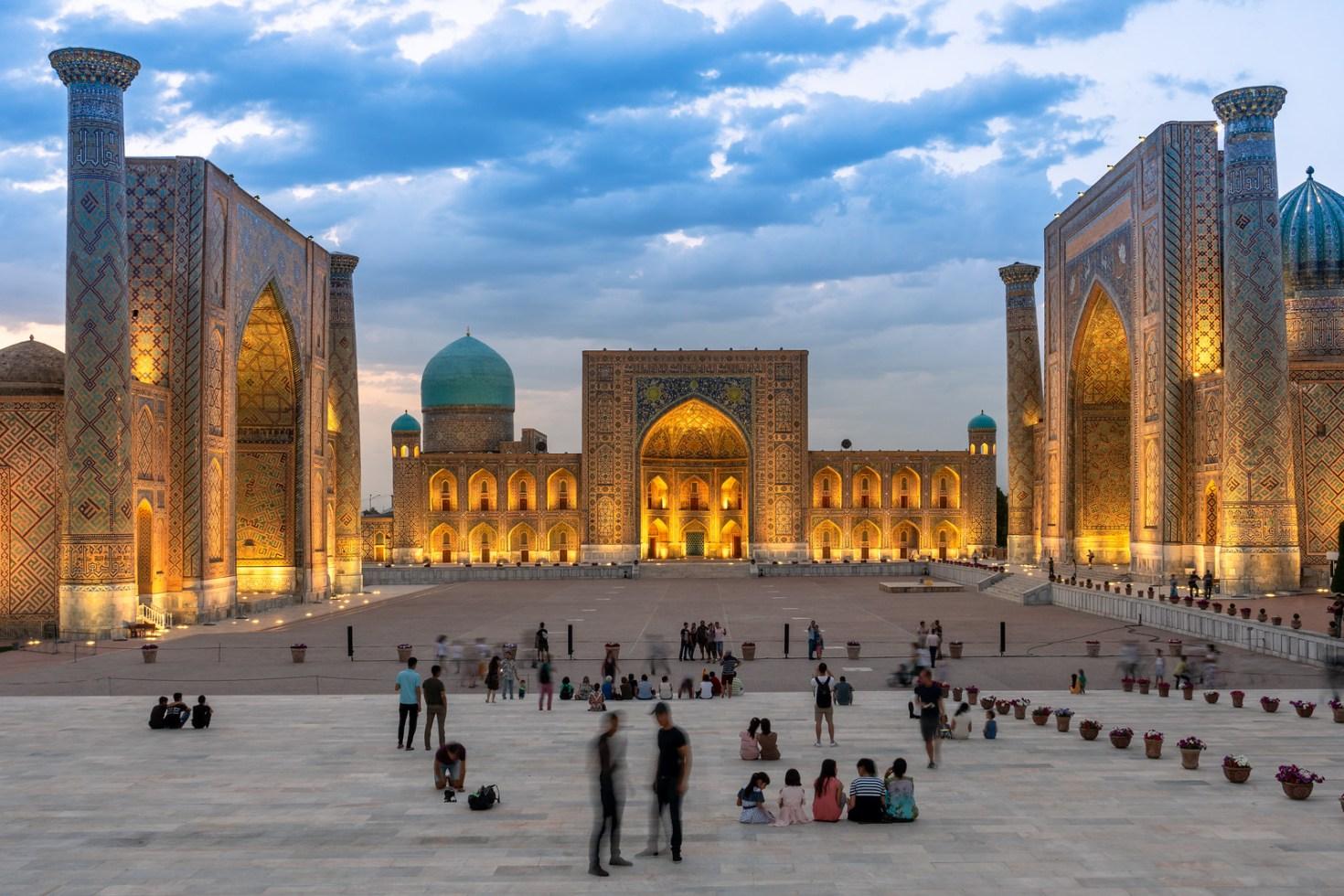 Uzbekistan, Samarkand - Registan